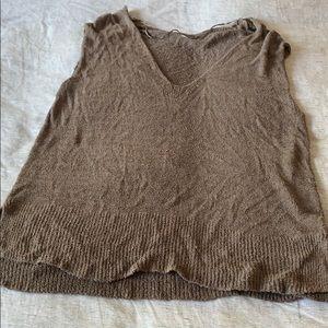 Cute, boxy FP sweater tunic
